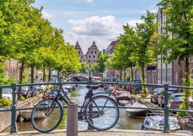 HOLANDIJA   Amsterdam   Autobusom - Avionom